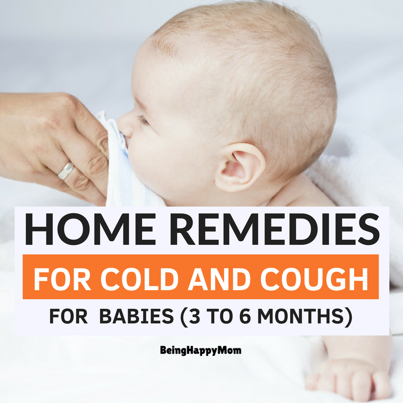 13 Best Home Remedies For Cold and Cough in Babies 2020